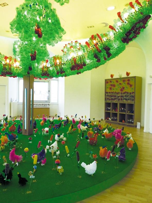 Fabrice Peltier - éco design - BHV - Jardin Recyclé