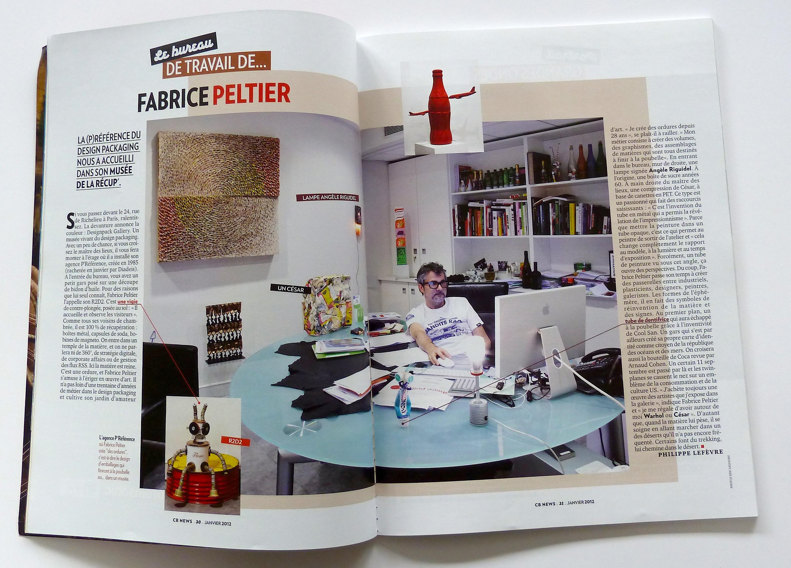 Design Fabrice Peltier