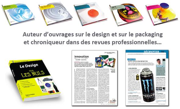 Fabrice Peltier - publication design - livres - auteur