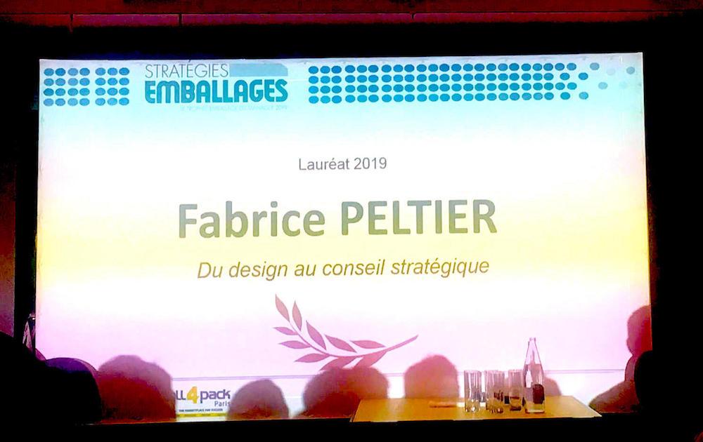 Fabrice Peltier Laureat Starategies Emballages - 2019