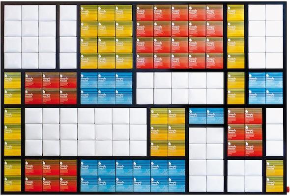 Fabrice Peltier - Tetra Art - Hommage à Mondrian