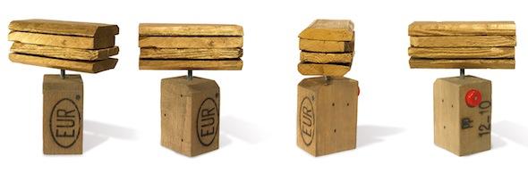 Fabrice Peltier - Création - Lingot d'Or dure