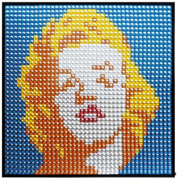 Fabrice Peltier - Création - Marilyn Monroe