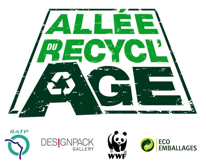 Allée du recyclage - Fabrice Peltier