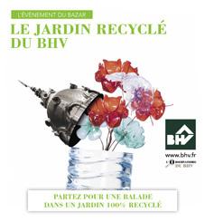 Le jardin recycle du BHV - Fabrice Peltier