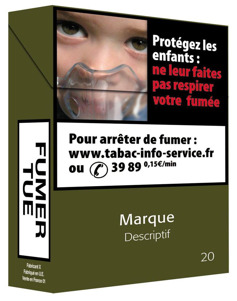 Emballages magazine actualités Paquet neutre