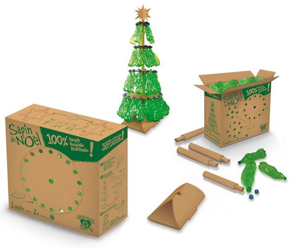 Fabrice Peltier - éco design - Sapins recyclés