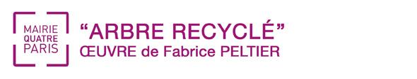 Fabrice Peltier - éco design - Lustre recyclé - Mairie Paris 4