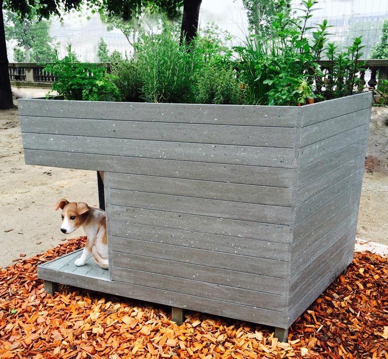 Fabrice Peltier - Eco design - Niche toiture végétale - Recyclage