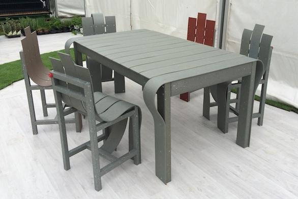 Fabrice Peltier - Eco design - Meubles PolyAl - Tetra Pak