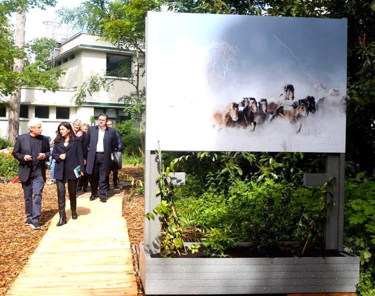 Fabrice Peltier - éco design - Structures expositions GoodPlanet