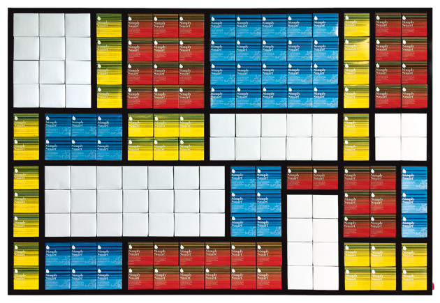 Fabrice Peltier - Tetra Pak - Hommage à Piet Mondrian