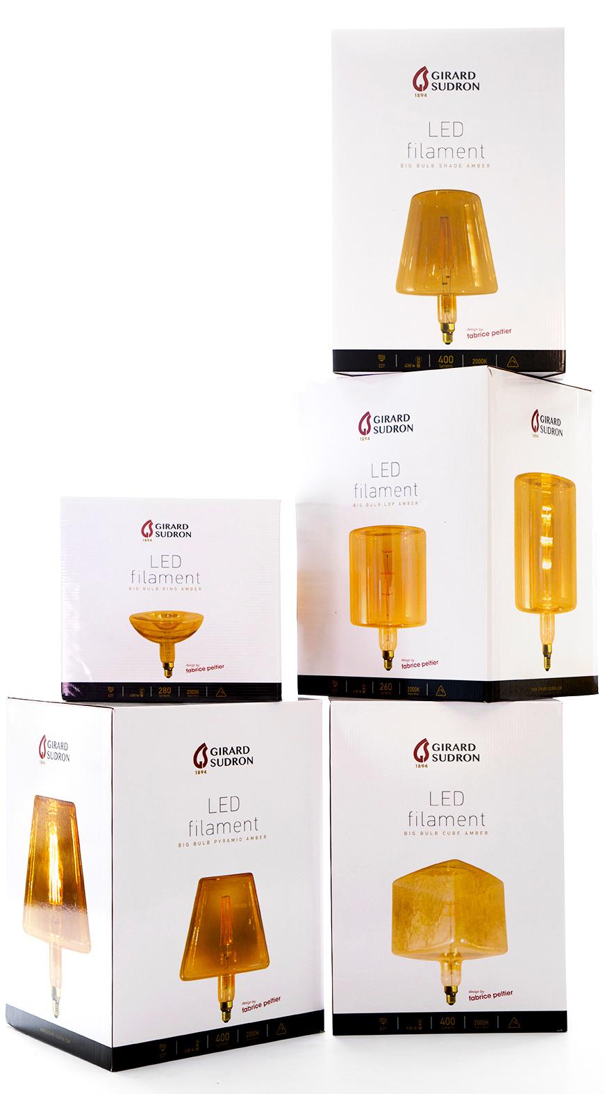 Fabrice Peltier - Lampes geantes Girard Sudron
